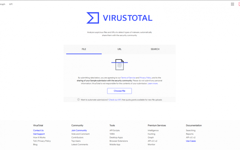 How to use VirusTotal API for free with python